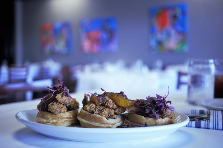 Magnolia waffle