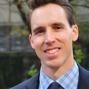 Josh Hawley, a former Rockhurst High School graduate