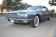 A vintage Thunderbird.