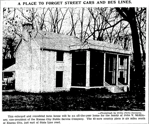 Historic home newspaper