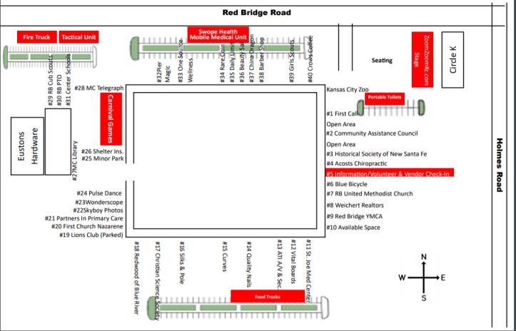 South KC Block Party map